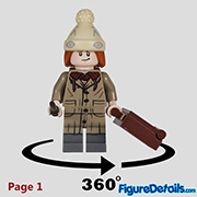 Fred Weasley Minifigure - Lego Collectible Minifigures Harry Potter Series 2 - 71028