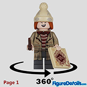 George Weasley Minifigure - Lego Collectible Minifigures Harry Potter Series 2 - 71028