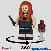 Ginny Weasley Minifigure - Lego Collectible Minifigures Harry Potter Series 2 - 71028