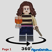 Hermione Granger Minifigure - Lego Collectible Minifigures Harry Potter Series 2 - 71028