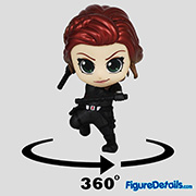 Black Widow Cosbaby cosb563 - Avengers End Game - Hot Toys
