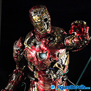 Mysterio Iron Man Illusion Prototype Preview - Spiderman Far From Home - Hot Toys - mms580