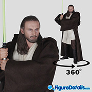 Qui-Gon Jinn - Star Wars Episode I - The Phantom Menace - Liam Neeson - Hot Toys - mms525
