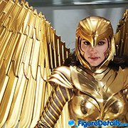 Wonder Woman 1984 Golden Armor Deluxe version Prototype Preview - Hot Toys - mms577 mms578