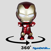 Iron Man Mark 85 Cosbaby cosb561 - Avengers End Game - Hot Toys
