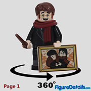 James Potter Minifigure - Lego Collectible Minifigures Harry Potter Series 2 - 71028