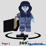 Moaning Myrtle Minifigure - Lego Collectible Minifigures Harry Potter Series 2 - 71028