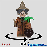 Professor Sprout Minifigure - Lego Collectible Minifigures Harry Potter Series 2 - 71028