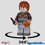 Ron Weasley Minifigure - Lego Collectible Minifigures Harry Potter Series 2 - 71028