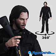 John Wick Chapter 2 - Keanu Reeves - Hot Toys