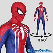 Spider-Man Advanced Suit - Video Game - Hot Toys